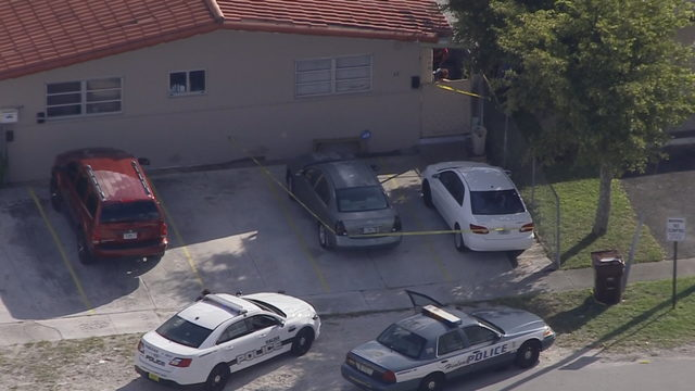 Woman struck by car, pinned against wall in Hialeah