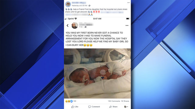 Babies lost at Jackson Memorial Hospital post was social media hoax