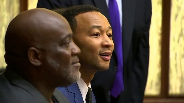 John Legend shows up in Miami courtroom