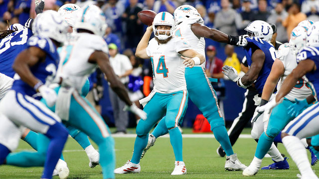 Fitzpatrick leads way as Dolphins win second straight game