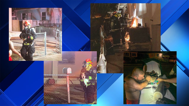 Hialeah family with 14 cats and 4 dogs displaced after house fire