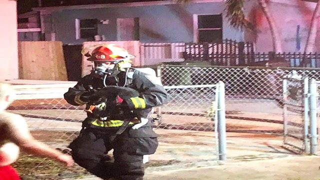 Hialeah family displaced after house fire, rescue workers helped rescue…