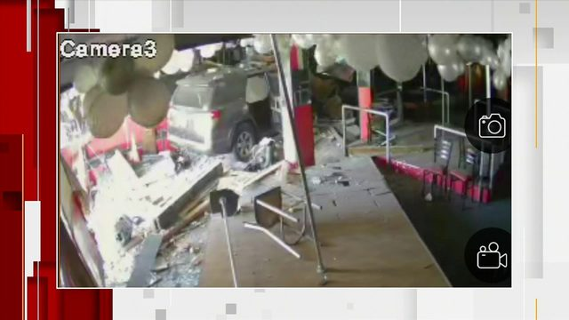 Car plows into newly opened business in northwest Miami-Dade