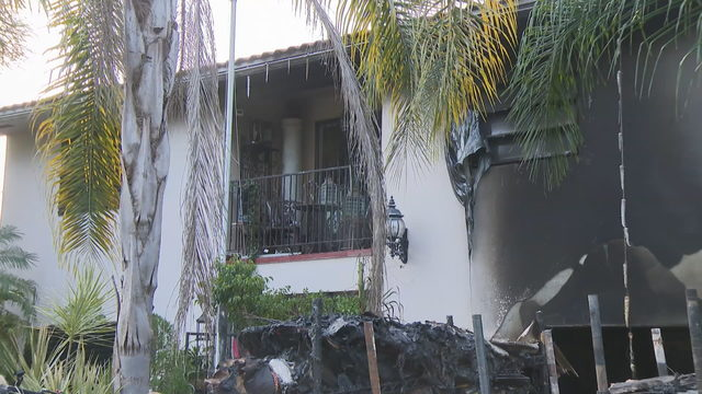 Flames tear through home in southwest Miami-Dade County