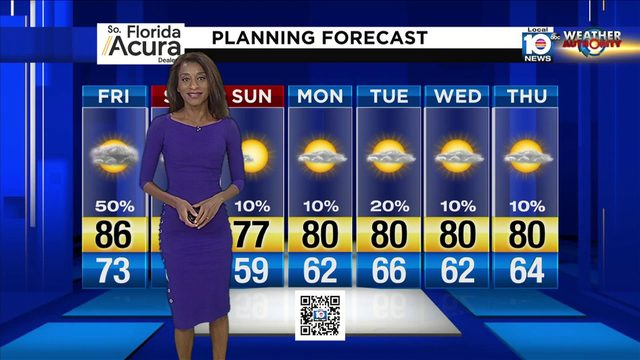 Local 10 Evening Weather Update: 11/14/19