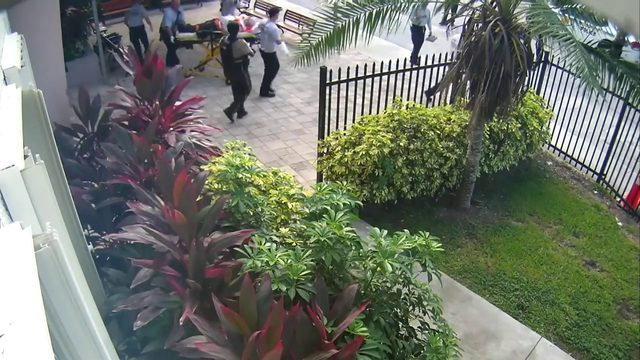 Miami-Dade police officers release synagogue shooting surveillance video