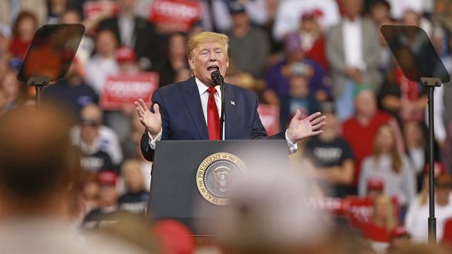 President Trump to hold rally in South Florida before Thanksgiving