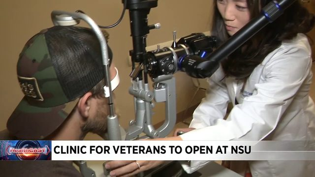 NSU has opened its clinics to veterans, families