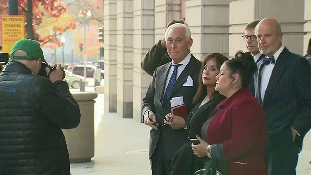 Roger Stone faces decades in prison after being found guilty Friday