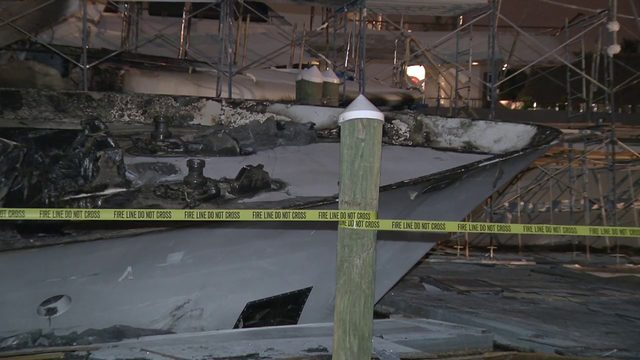 Burned yachts most expensive fire loss in Fort Lauderdale history