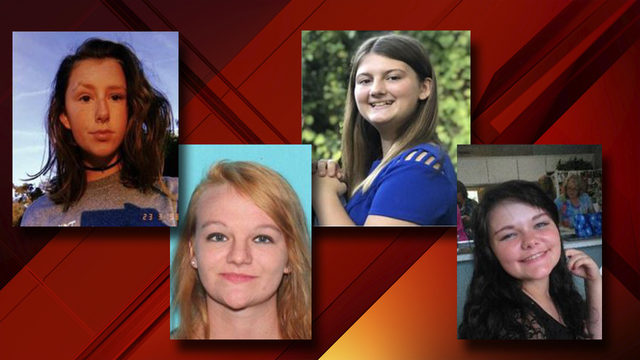 4 Florida girls reported missing for nearly a week