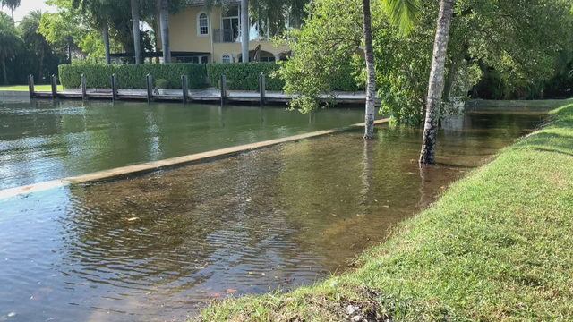 Rising water from king tides washes out business on busy Hollywood Broadwalk