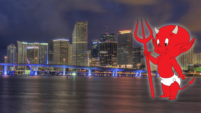 We're li'l devils! Miami named among 'Most Sinful Cities in America'