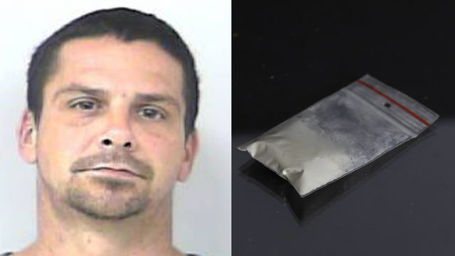 Florida man says wind blew cocaine into his car