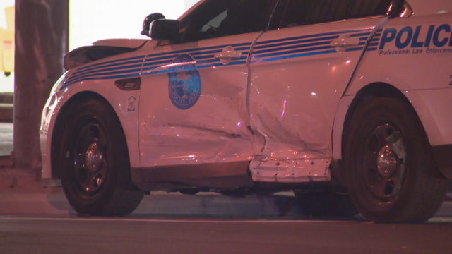 Miami police officer hospitalized after hit-and-run crash