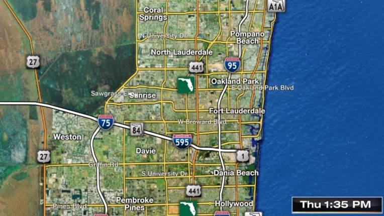 Dania Beach Florida Map.Weather Miami South Florida Forecast Radar Severe Alerts